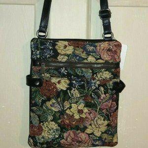 Patricia Nash PRIZZI Leather Crossbody Bag